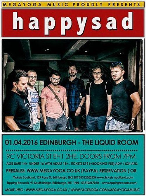 Happysad w Edynburgu