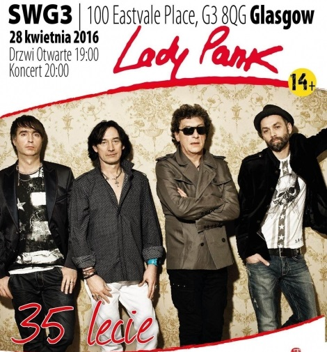 Lady Pank w Glasgow