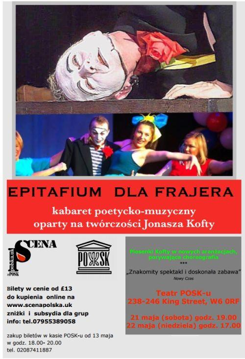 Kabaret muzyczny - Epitafium dla Frajera