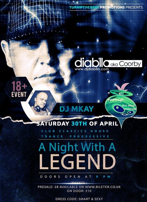 Dj Diabllo aka Coorby w Leicester