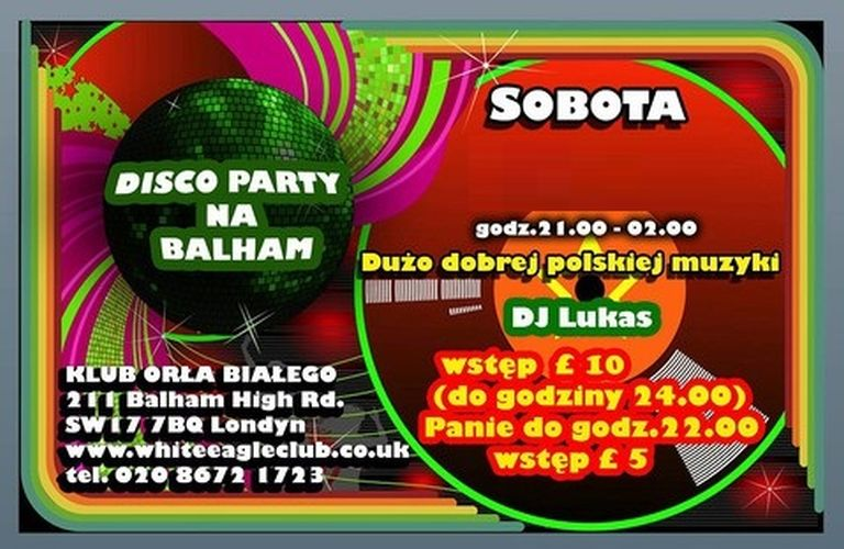 Disco Party na Balham