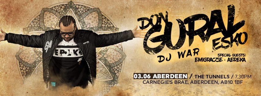 DonGURALesko & DJ War w Aberdeen