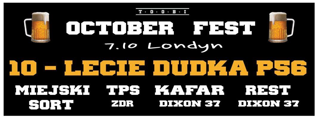 TOOBI October Fest 2016 w Londynie