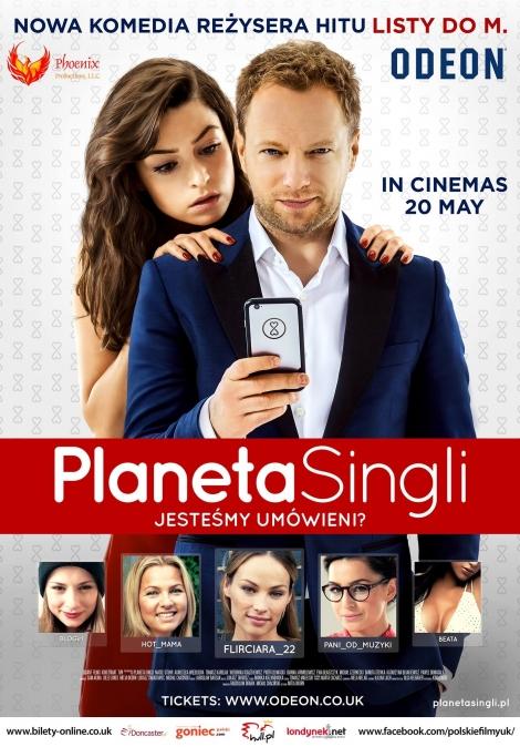 Film 'Planeta singli' w UK