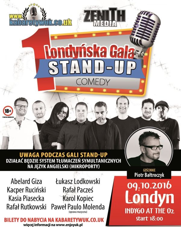 I Londyńska Gala Stand-Up Comedy