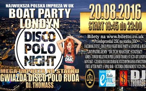 Ruda - Disco Polo Night w Londynie