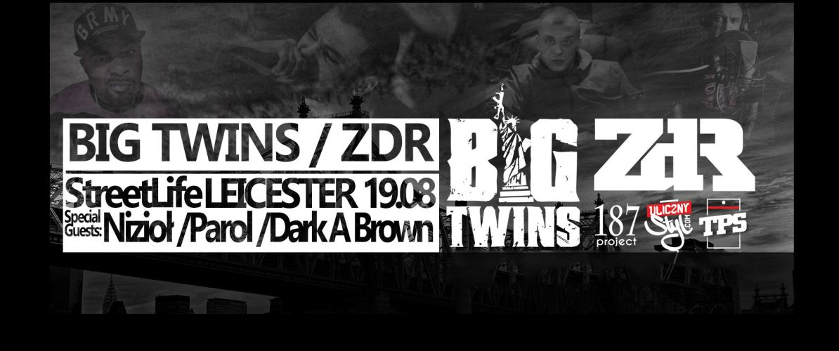 Big Twins / ZDR w Leicester