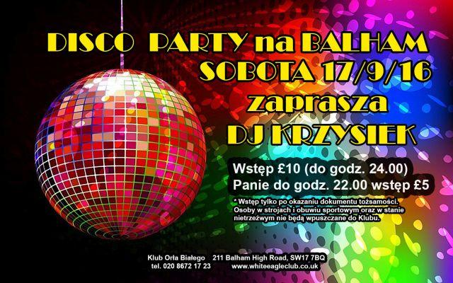 Disco Party na Balham