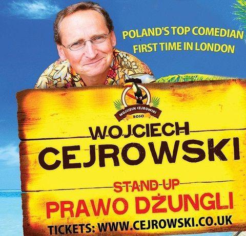 Wojciech Cejrowski w Londynie