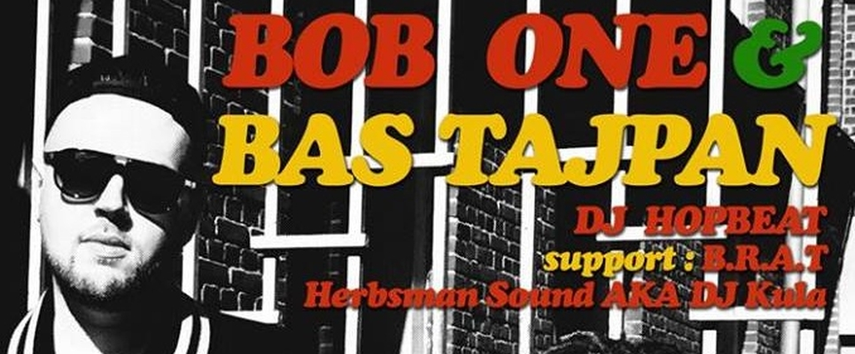 BOB ONE i BAS TAJPAN w Londynie