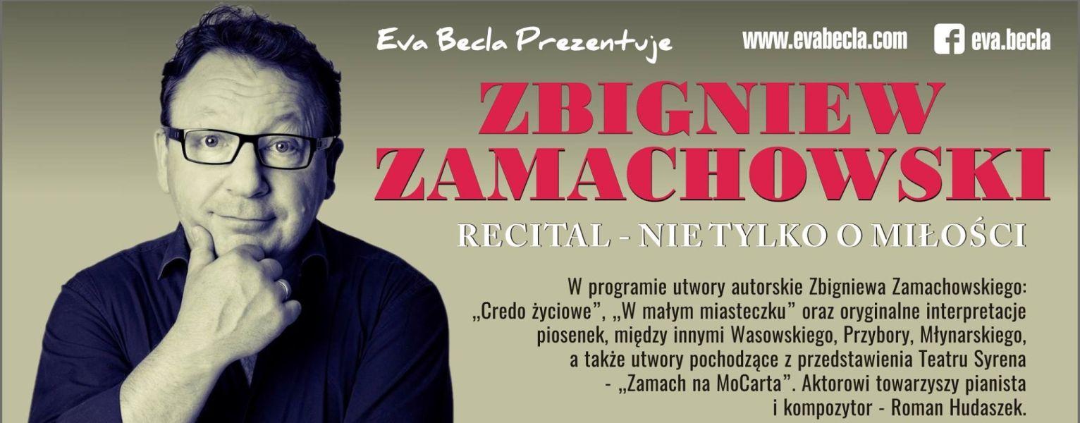Recital autorski Zbigniewa Zamachowskiego w Londynie