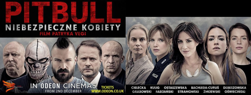 'Pitbull. Niebezpieczne Kobiety' ponownie w UK!