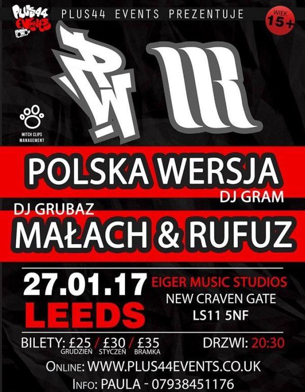 Polska Wersja / Małach i Rufuz w Leeds