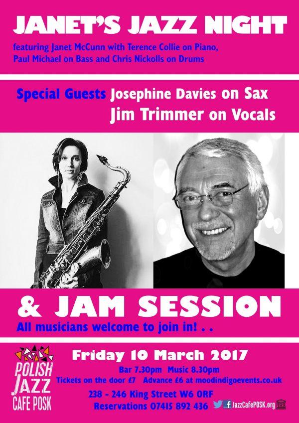 Janet's Jazz Night w Londynie