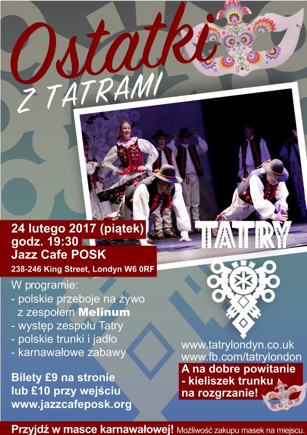 Tatry Polish Folk Evening w Londynie