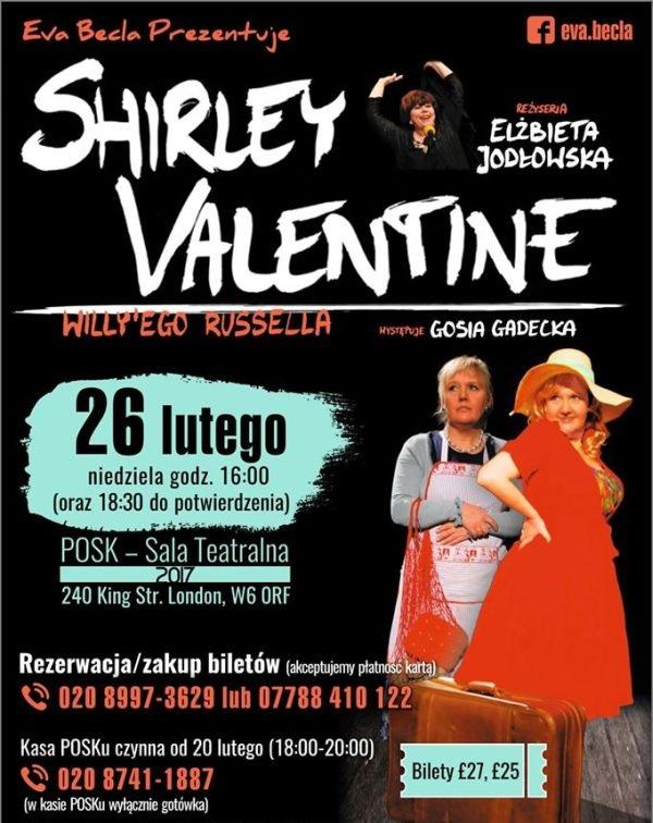 'SHIRLEY VALENTINE' w Londynie