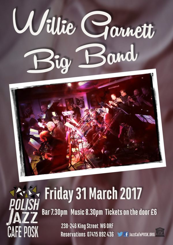 Willie Garnett's Big Band w Londynie