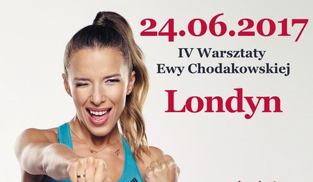 Ewa Chodakowska w Londynie