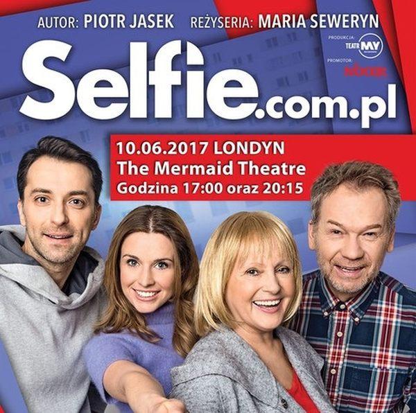 Spektakl 'Selfie.com.pl' w Londynie