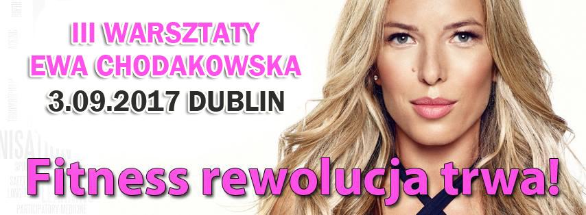 Ewa Chodakowska w Dublinie