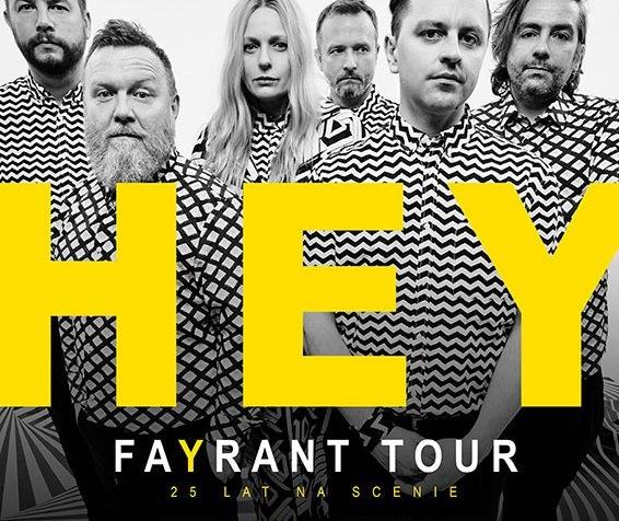 Hey - FaYrant na Wyspach w Londynie
