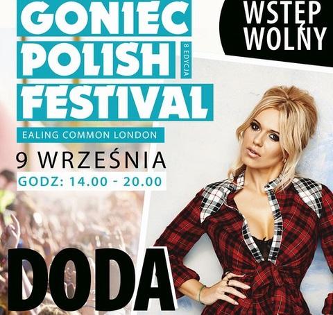 Doda w Londynie - Goniec Polish Festival 2017