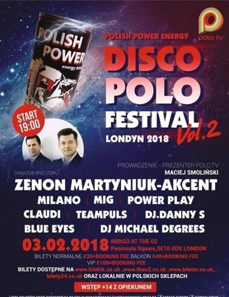 Disco Polo Festival w Londynie
