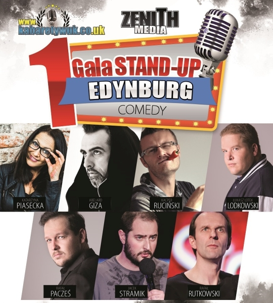 I Gala Stand-Up w Edynburgu