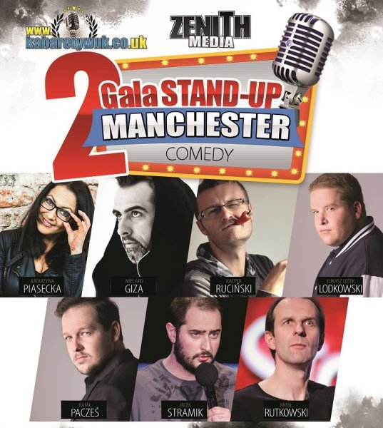 II Gala Stand-Up w Manchesterze
