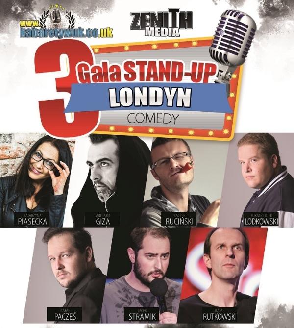 III Gala Stand-Up w Londynie
