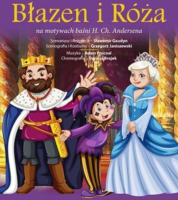 Spektakl 'Błazen i Róża' w Londynie