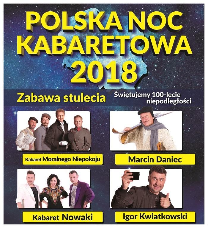 Polska Noc Kabaretowa w Peterborough